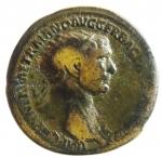 obverse: Impero Romano. Traiano .Dupondio da classificare.MB+.ç