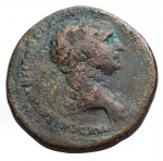 D/ Impero Romano - Traiano. 98-117 d.C. Asse. r/ Vittoria a ds. gr 10,28. MB+