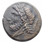 obverse: Mondo Greco - Apulia. Arpi.ca 325-250 a.C.Ae. D/ testa di Zeus a sinistra. R/ Cinghiale a destra, sopra lancia.HN Italy 642.Pesogr. 7,97. Diametro mm 20,96 x 21,65.BB+