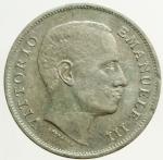 R/ Casa Savoia. Vittorio Emanuele III. 1 Lira 1907 Aquila. Ag. Pagani 7767. BB+.