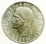 R/ Casa Savoia. Vittorio Emanuele III. Albania. 1939-1943. 5 lek 1939 A. XVII. AG. SPL. ex Tintinna 73 lotto 567 aggiudicata a non pagata