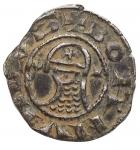 D/ Crociati - Antiochia. Boemondo V (1233-1235). Denaro. gr. 1,07. AG. qSPL/SPL. Bella patina