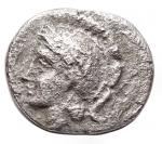 R/ Varie - Mondo Greco. Diobolo Ag. Athena a sn/ Ercole e il leone Nemeo. gr 0,97