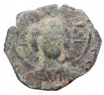 obverse: Varie -Monetazione Bizantina utilizzata dai primi Normanni ?Follis.AE.g 2,93.mm 22,7 x 20,3. Patina