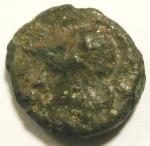 D/ Repubblica Romana. Prima del 215-212 a.C.Litra. Ae. D/ Testa di Minerva a sinistra. R/ Protome equina. Cr. 17/1a. Peso 3,91 gr. Diametro16 mm. MB/BB.
