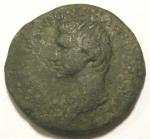 obverse: Impero Romano. Augusto. 27 a.C. - 14 d.C.Asse. Ae. Da catalogare. Peso 9,73 gr. Diametro 28 mm.MB. Patina.