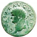 obverse: Impero Romano. Domiziano. 81-96 d.C. Asse. AE. D\ CAESAR AVGVSTI Testa a sinistra. R\ DOMITIAN VS Due cornucopie e caduceo. C.97. Peso 11,15 gr. Diametro 26,00 mm. BB+.w