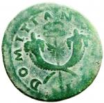 reverse: Impero Romano. Domiziano. 81-96 d.C. Asse. AE. D\ CAESAR AVGVSTI Testa a sinistra. R\ DOMITIAN VS Due cornucopie e caduceo. C.97. Peso 11,15 gr. Diametro 26,00 mm. BB+.w