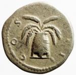 reverse: Impero Romano. Adriano. 117-138 d.C. Denario. Ag. D/ HADRIANVS AVGVSTVS Testa laureata verso destra. R/COS III Modio con spighe. RIC:197. Peso 2,35 gr. Diametro 17,65 mm. qBB. R.