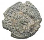 R/ Impero Romano - Costanzo II. 337-361 d.C. Ae. Aquileia. Peso gr. 2,45. BB+. Patina verde.