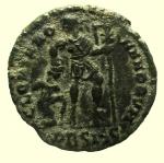 R/ Impero Romano. Valente. 364-378 d.C. Follis. Ae. : D\ D N VALENS P F AVG Busto verso destra. R\ GLORIA ROMANORVM in esergo •BSISC. RIC 5b. Peso 2,8 gr. Diametro 18,4 mm. BB+.