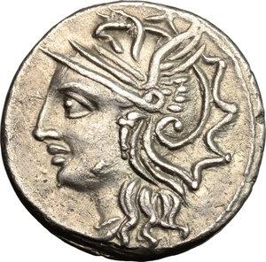 L. Appuleius Saturninus. . AR Denarius, 104 BC