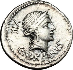 C. Norbanus.. AR Denarius, 83 BC