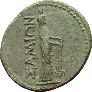 Reverse image of coin 358