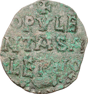 Reverse image of coin 525