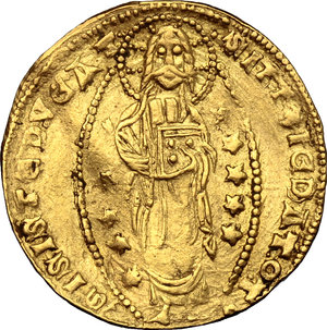 Reverse image of coin 696