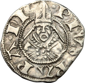 Reverse image of coin 698