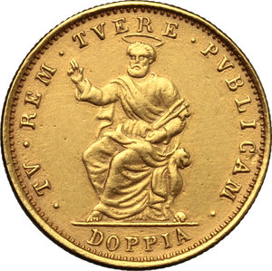 Reverse image of coin 704