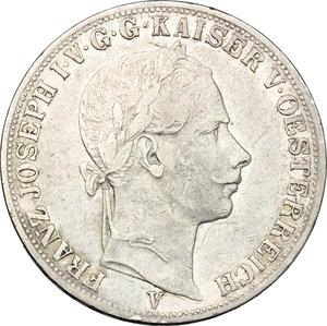 Venezia.  Francesco Giuseppe d Asburgo-Lorena (1849-1866). Tallero 1861