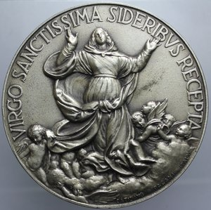 D/ PIO XII VIRGO SANCTISSIMA OPUS MISTRUZZI DIAMETRO 59,9 MM PESO 93,07 GR SPL