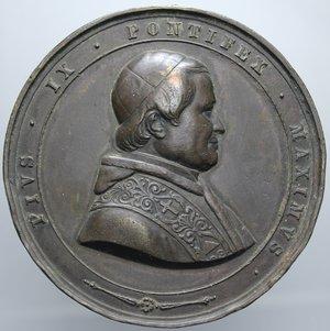R/ PIO IX INCENDIO BASILICA S. PAOLO 1846 OPUS GIROMETTI DIEMTRO 50,8 MM PESO 66,03 GR BB