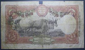 D/ VITTORIO EMANUELE III 50 LIRE 13/11/1919 BUOI RR MB+ (MANCANZE)