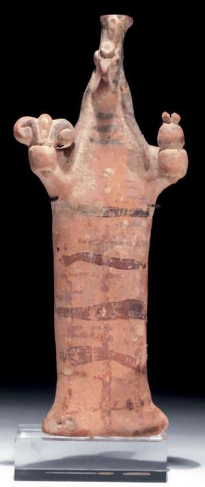 obverse: Grande statuetta beotica di divinità Materia e tecnic