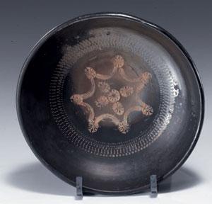 obverse:  Tre coppe a vernice nera Materia e tecnica: argilla figulin