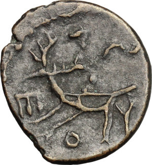 Reverse image of coin 417