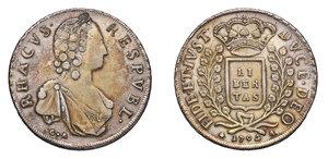 RAGUSA Repubblica. Libertina 1794. CNI 398. AG. Bel BB.