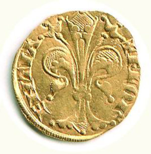 reverse: Firenze - Repubblica (sec XII I- 1532) - Fiorino d oro