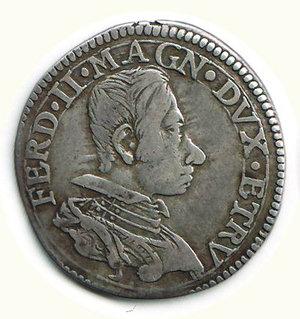 obverse: Firenze - Ferdinando II - Testone 1636