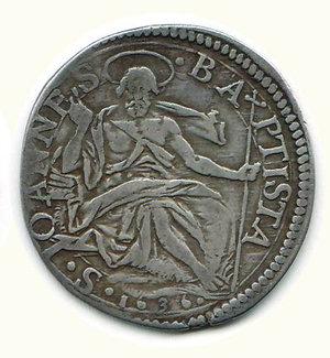 reverse: Firenze - Ferdinando II - Testone 1636