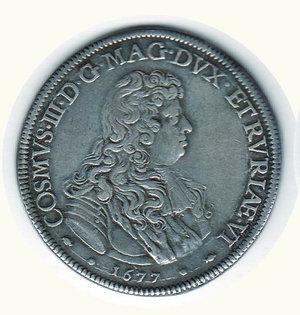 obverse: FIRENZE - Cosimo III - Piastra 1677