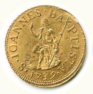 obverse: Firenze - Francesco II di Lorena (1737-1765) - Fiorino 1739