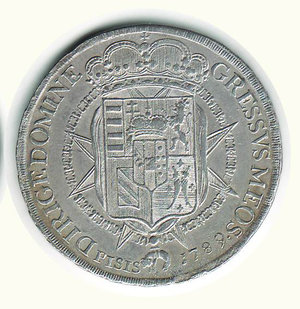 reverse: FIRENZE - Pietro Leopoldo - Francescone 1789