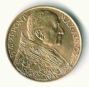 ROMA - Pio XI - 100 Lire 1931