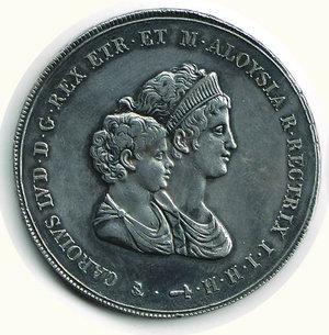 obverse: FIRENZE - Carlo Ludovico - Reggenza - Dena 1807