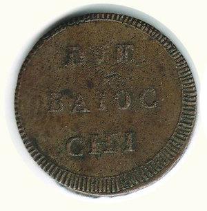 obverse: Ancona - Repubblica Romana (1798-99) 2 Baiocchi