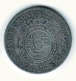 R/ SAVOIA - Carlo Emanuele III - Quarto di Scudo nuovo 1756; D/ Busto a s.; R/ Stemma ovale coronato - MIR 948b. AR - MB