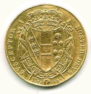 obverse: FIRENZE - Leopoldo II - 80 Fiorini 1827