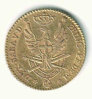 R/ VITTORIO AMEDEO III - Doppia d'oro 1790. AU - q.SPL