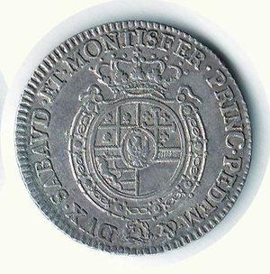 R/ VITTORIO AMEDEO III - 1/2 di Scudo 1779. RR - AR - BB+/q.SPL