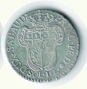 R/ VITTORIO AMEDEO III -  10 Soldi 1795 - Argentatura completa. Mist. - SPL+