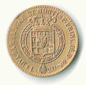 reverse: Vittorio Emanuele I - 20 Lire 1816