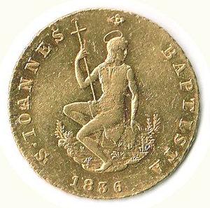 obverse: FIRENZE - Leopoldo II (1824-1859) - Ruspone 1836