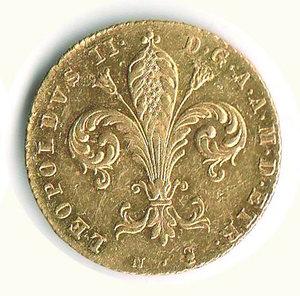 reverse: FIRENZE - Leopoldo II (1824-1859) - Ruspone 1836