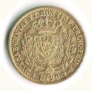 reverse: CARLO FELICE - 20 Lire 1828 - TO