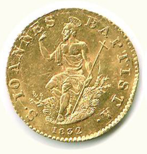 obverse: FIRENZE - Leopoldo II - Zecchino 1832