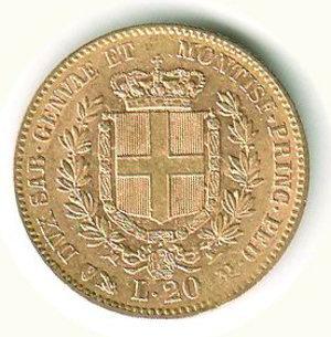 reverse: Vittorio Emanuele II - 20 Lire 1860 - GE